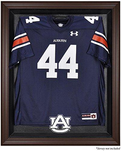 Auburn Tigers Brown Framed Logo Jersey Display Case
