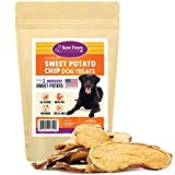 Raw Paws Natural Sweet Potato Dog Treats, 4-oz Chips – Made in USA – Grain & Gluten-Free, Human Grade, No Preservatives, Vegan, Vegetarian Dog Treats – Healthy, Dried, Chewy Dog Sweet Potato Chews For Sale