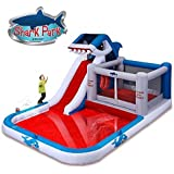 Blast Zone Shark Park Inflatable Water Park Bouncer