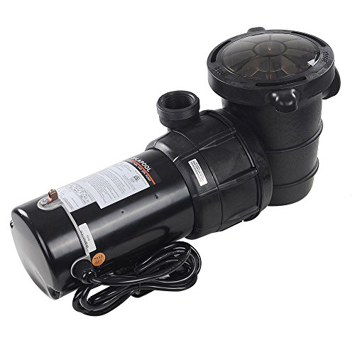 - Yescom 1.5 HP Above Ground Swimming Pool Spa Water Pump Outdoor Strainer Max. Flow 4980GPH Motor w/ETL CSA Certificate