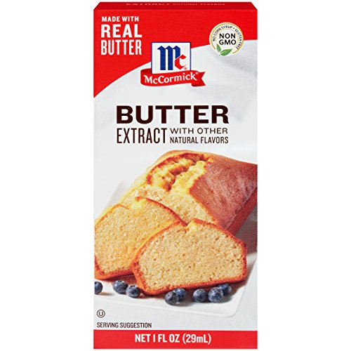 - McCormick Butter Extract With Other Natural Flavors, 1 fl oz (Pack of 6)