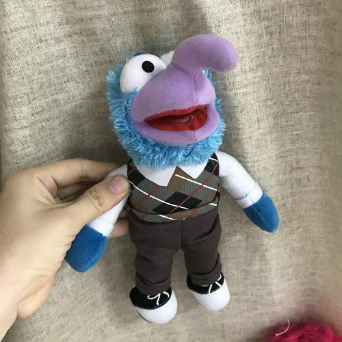PUNIDAMAN Green Frog and Friends Fozzy Bear Animal Gonzo Stuffed Plush Large Doll Toy Best Gift U Must Have Boys Favourite Characters Superhero Birthday Unboxing Box