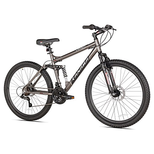 Takara Jiro Dual-Suspension Disc Brake Mountain Bike, 27.5-Inch