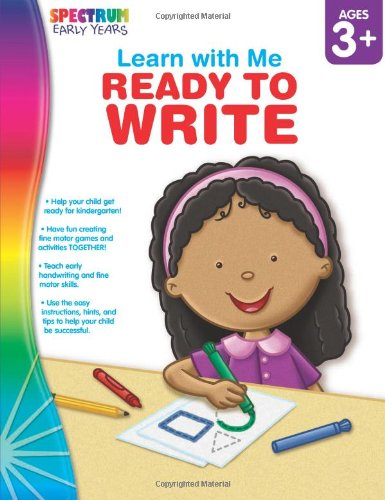 Ready To Write, Ages 3 - 6 (Learn With Me)