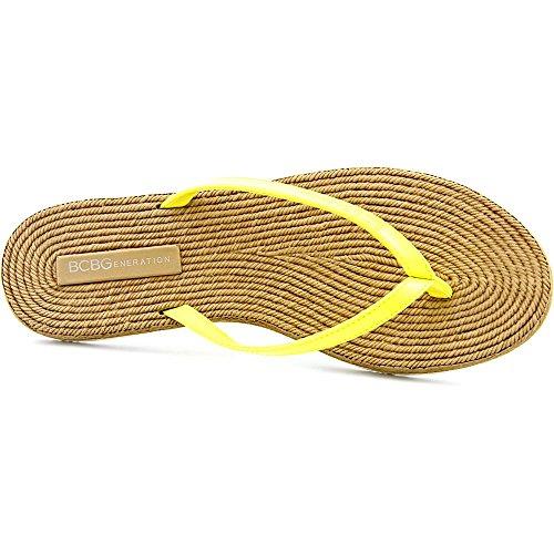 Bcbgeneration Yolo Women Us 8 Sandalo Infradito Giallo