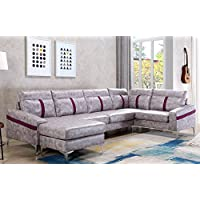Harper & Bright Designs Modern Sectional Sofa L Shape Couch with Wide Chaise
