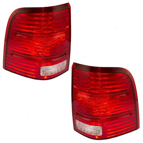 Driver and Passenger Taillights Tail Lamps Replacement for Ford SUV 1L2Z13405AA 1L2Z13404AA AutoAndArt