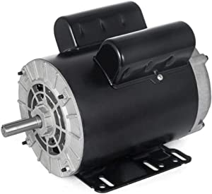 3HP Compressor Duty Electric Motor 3450RPM 56 Frame Single Phase 5/8