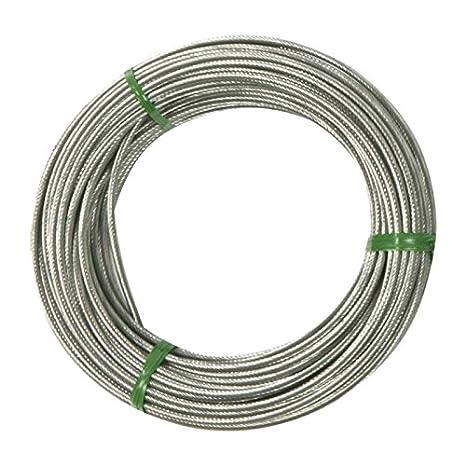 Cable acero universal diámetro 1.5 mm cortadora Motoculture embrague Poignee butee velo Cyclo moto Gas tornillo: Amazon.es: Bricolaje y herramientas