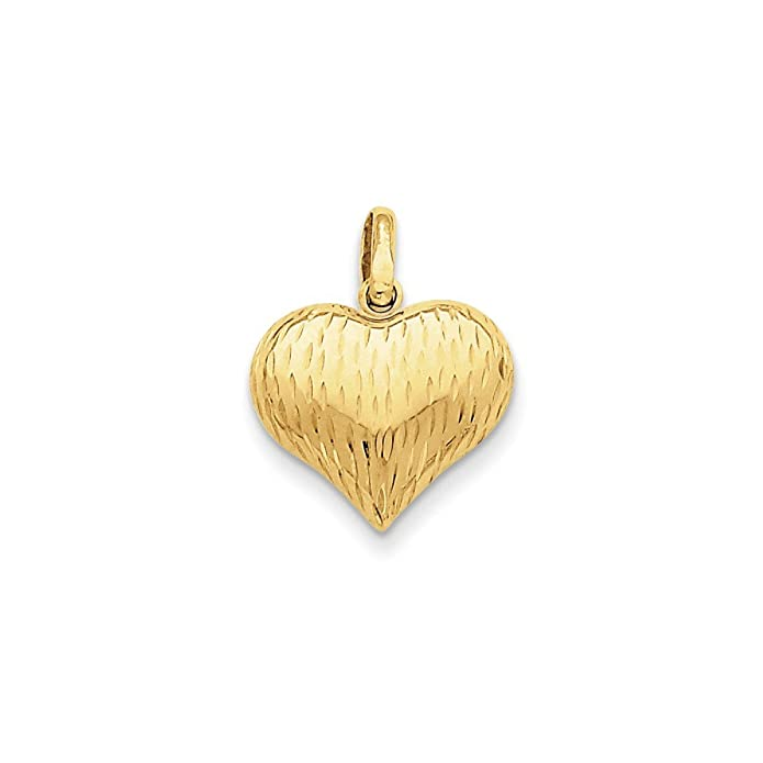 14K Solid Real Yellow 2 Tone Gold Mama Charm Pendant