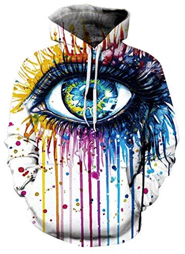 Color Para Mujer Amoma Eye Sudadera wfWaOqnPn