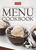 America's Test Kitchen Menu Cookbook, America's Test Kitchen Editors, 1933615907