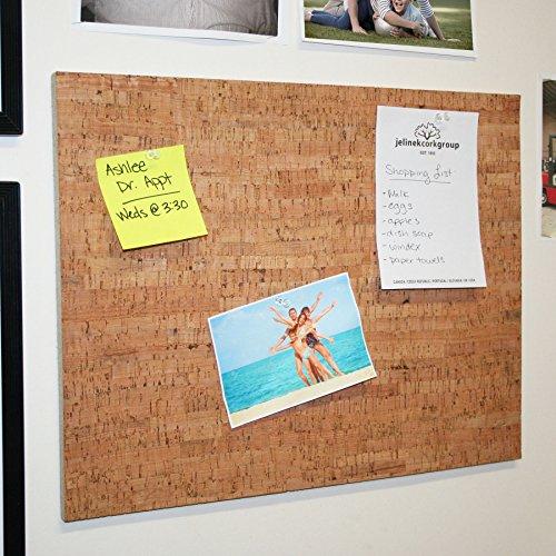Decorative Product Board : Quot bulletin board with decorative cork veneer