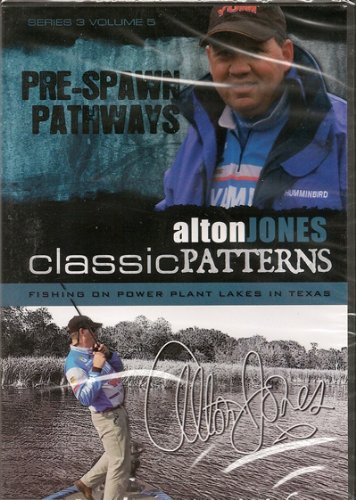 Pre-spawn Pathways ~ Bass Fishing DVD ~ Alton Jones ~ Swimbaits
