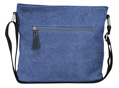 multicolore Borsa 3 Blau spalla donna PiriModa a Multicolore Modell Grau g4dqvwXxw