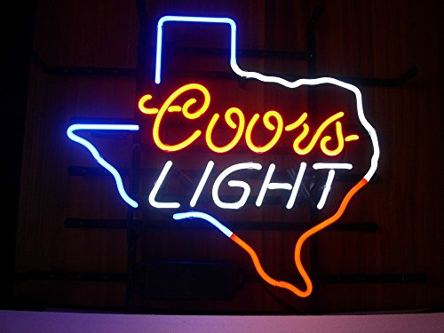 Coors Light Texas Neon Sign 17