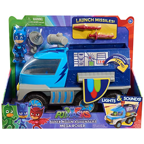PJ Masks Super Moon Mega Rover, Blue