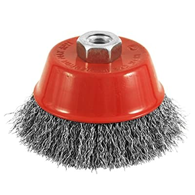 EAB Tool 2160440 4-Inch Diameter Crimped Wire Cup Brush