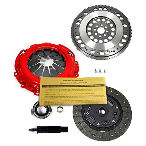 EFT ORGANIC CLUTCH KIT and CHROMOLY FLYWHEEL for ACURA TSX HONDA ACCORD 2.4L K24