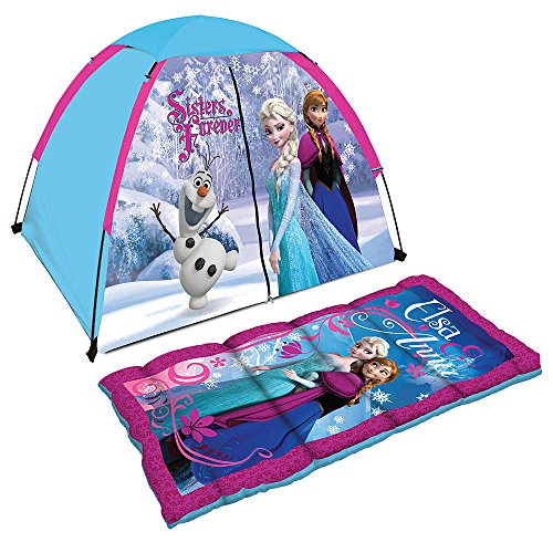 Disney Frozen Discovery Camp Set, Includes Tent Sleeping Bag