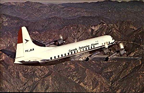 - Garuda Indonesian Airways Aircraft Original Vintage Postcard