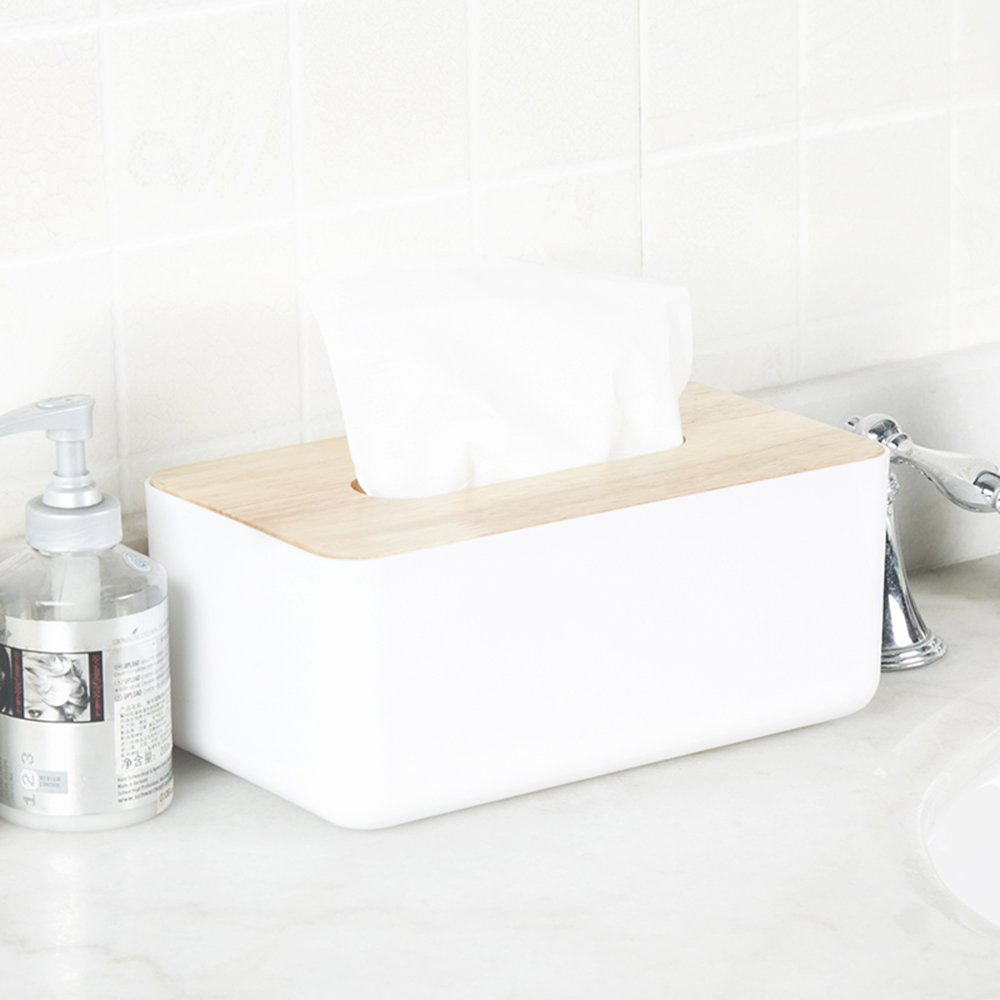 ... Tissue holder Paper Box Storage Case Holder Tissue Box Cover Toilet Paper Holder Dispenser for Your Home, Bathroom ,Office and Car (D): Home & Kitchen