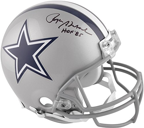 Dallas Cowboys Roger Staubach Autographed Hall of Fame Pro Helmet - Fanatics Authentic Certified - Autographed NFL ()