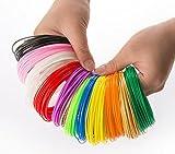 3D Pen Filament Refills - 20 Colors 17 Feet/5M each/Total 350 Feet 1.75mm ...