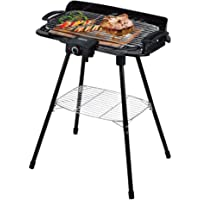 PowerPac PPQ2020 Electric BBQ Barbecue Grill Black