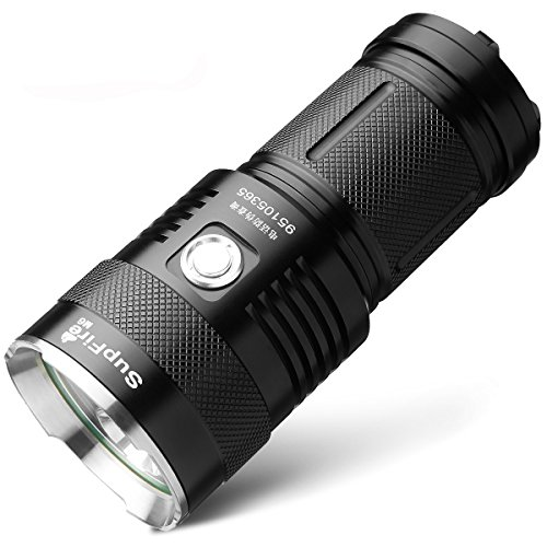 SupFire M6 LED Flashlight Torch With 3 CREE XML T6 LED Li...