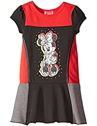 Girls Minnie Short Sleeve Panel Dress