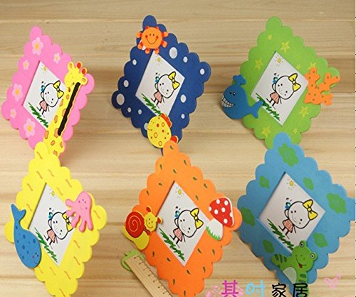 CraftDev Wooden Cute Animal Design Photo Frame For Birthday Return Gift Set Of 6 Amazonin Toys Games