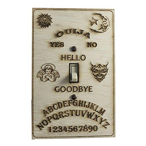 Ouija switch plate - Raw Wood - 4'x7'