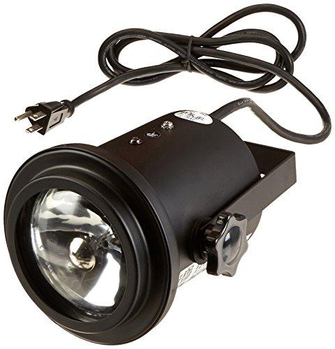 MBT Lighting P100BFUL Black Pin Spot Light