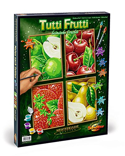 Schipper Tutti Frutti Paint-by-Number Kit