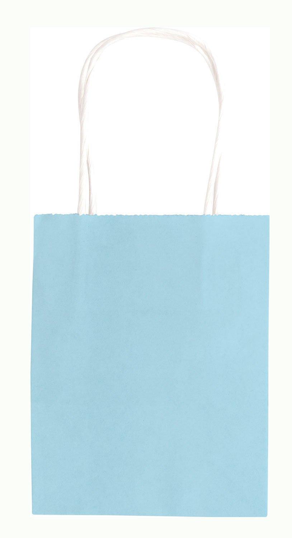 Verzieren und Verschenken ca farbig sortiert Geschenkt/üten folia 21209//10 zum Basteln 12 x 5,5 x 15 cm Papiert/üten aus Kraftpapier 10 St/ück