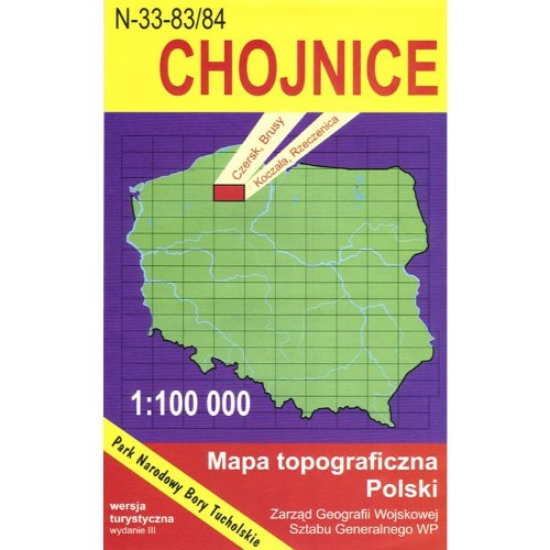 Chojnice Region Map pdf