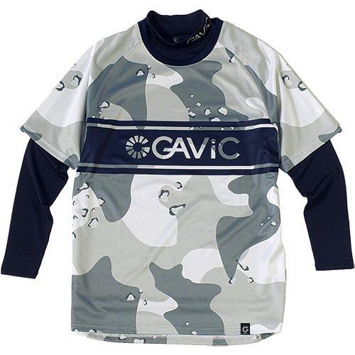 できる間欠走るガビック(GAVIC) プラシャツ&インナーセット WHT/CAMO GA8010 M