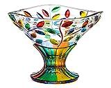 Murano Glass Flowervine Bowl, Compote