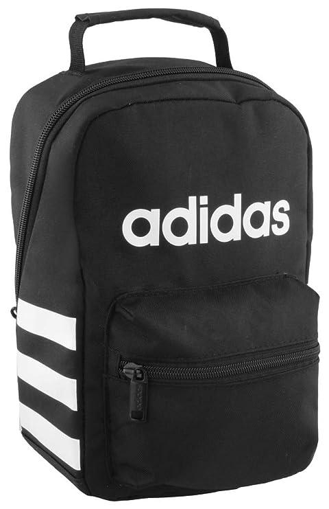 1359032898d Amazon.com: adidas Santiago Lunch Bag, Black/White, One Size: Sports ...