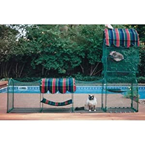 Kittywalk Town-&-Country Pet Enclosure 8