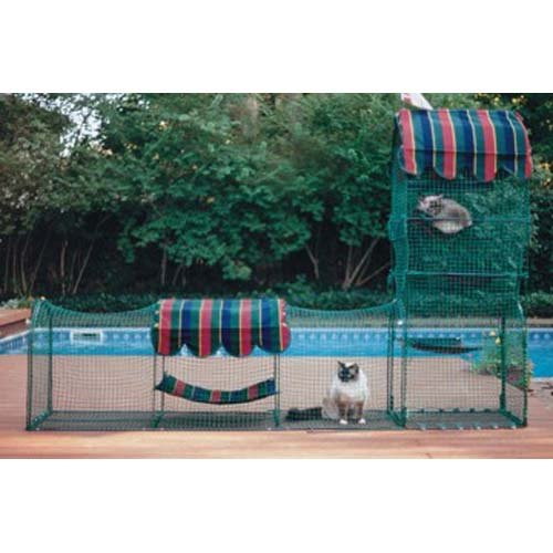 Kittywalk Town-&-Country Pet Enclosure by Kittywalk Systems Inc