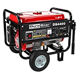 Durostar 4400-Watt 7.0 Hp air cooled OHV Gas Generator with Wheel Kit CARB Compliant