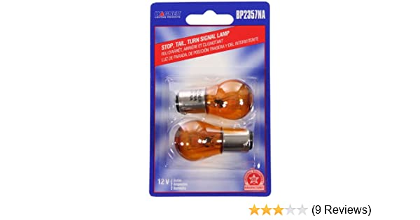 Card of 2 Wagner Lighting BP2357NA Natural Amber Miniature Bulb