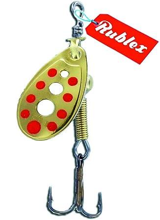 RUBLEX - 5 Cucharillas de pesca C-TURBO-0 OPR 1,50 gms.: Amazon.es: Deportes y aire libre