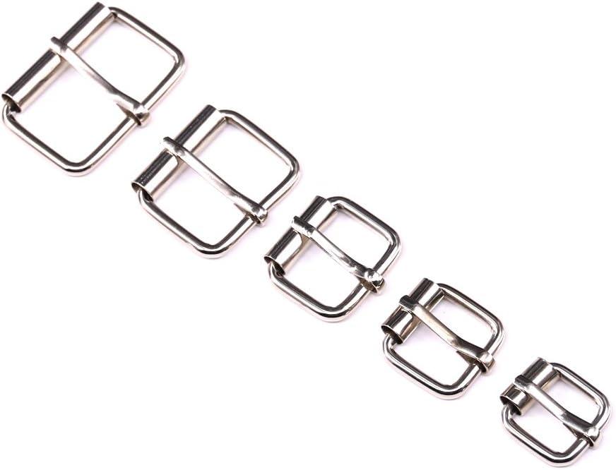 38/mm 50/mm 50/pcs Keepers Clips Hebillas para cincha para cintur/ón correa cinta hebilla rectangular pl/ástico 7//8/1 22/mm 25/mm