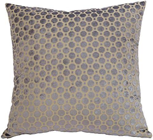 Canaan Company Velvet Geo Decorative Throw Pillow