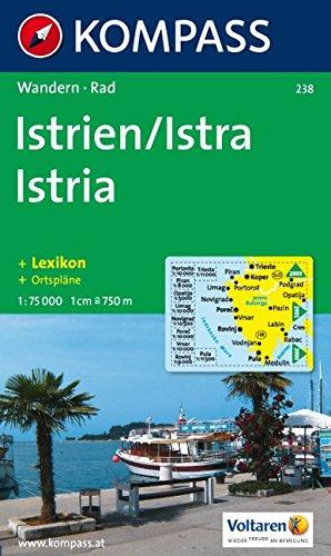 Kompass Karten Istrien