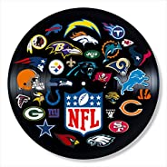 NFL Vinyl Decor, Wall Decor Vinyl Painted NFL, Best Gifts for Football Lovers, Original Art Gift for Home Deco