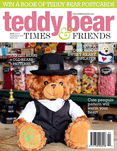 New! Teddy Bear And Friends Magazine July 2018 issue